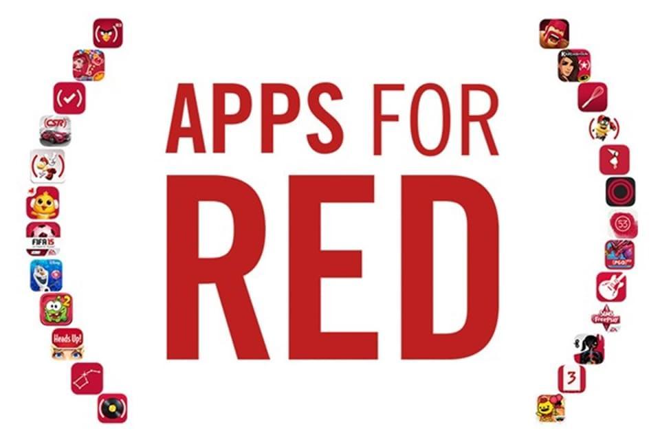 Imagem de Apps for (RED) é a campanha de combate à AIDS lançada pela Apple no site TecMundo