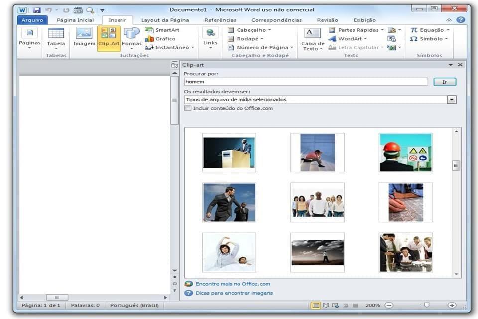 Imagem de Adeus, Clip Art: Office agora procura imagens direto do Bing no site TecMundo