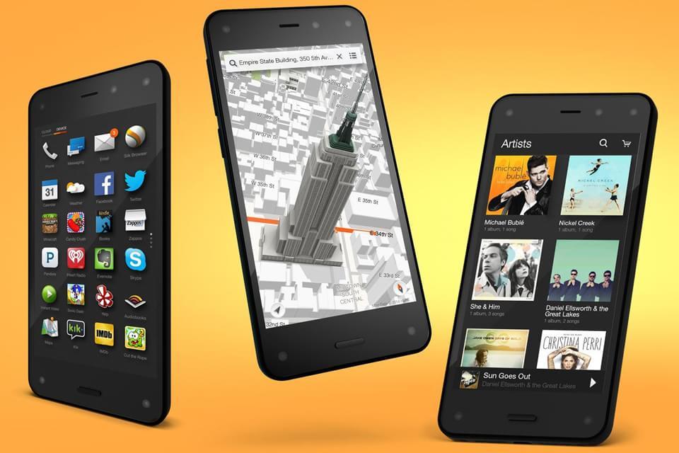 Imagem de Apesar do fracasso, provavelmente veremos mais Fire Phones da Amazon no site TecMundo