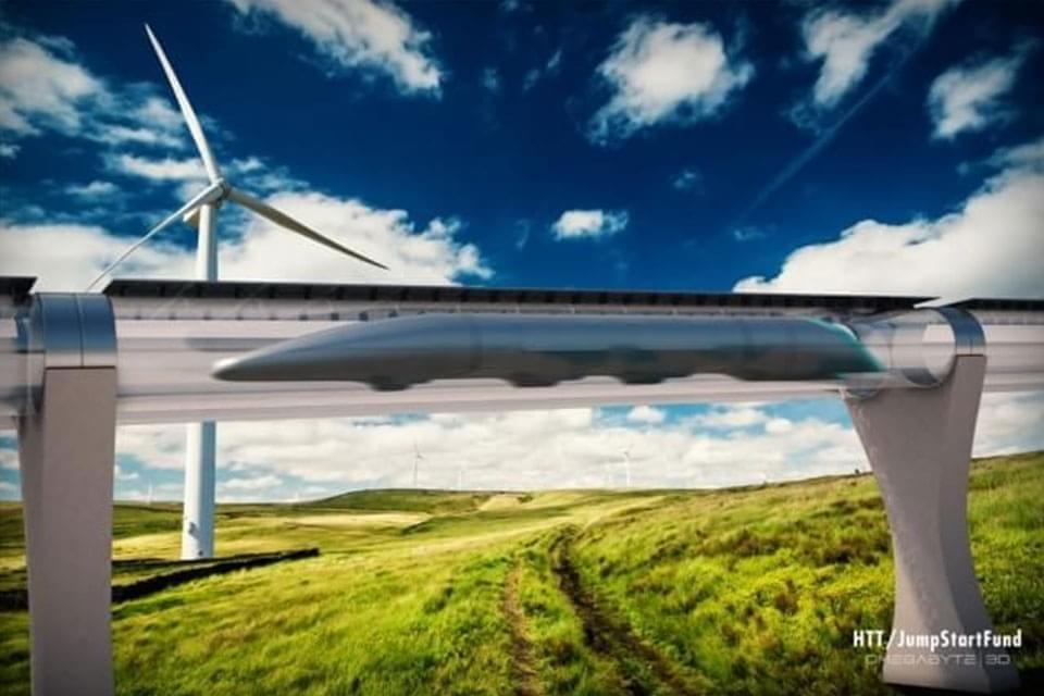 Imagem de Trem que viaja em tubo a vácuo tem primeiros projetos apresentados no site TecMundo