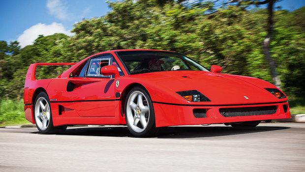 e9c97508252 Incrível! Brasileiros constroem réplicas perfeitas de Ferrari F40 ...