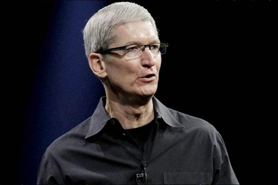 Imagem de CEO da Apple ganhou US$ 9,2 milhões em 2014 no site TecMundo