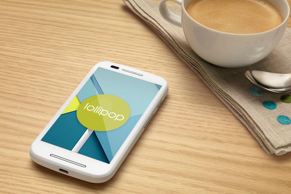 Imagem de Começam os testes da atualização Android Lollipop no Moto E no site TecMundo