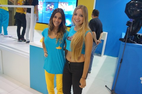 Imagem de As beldades da Campus Party 2015 [galeria] no site TecMundo