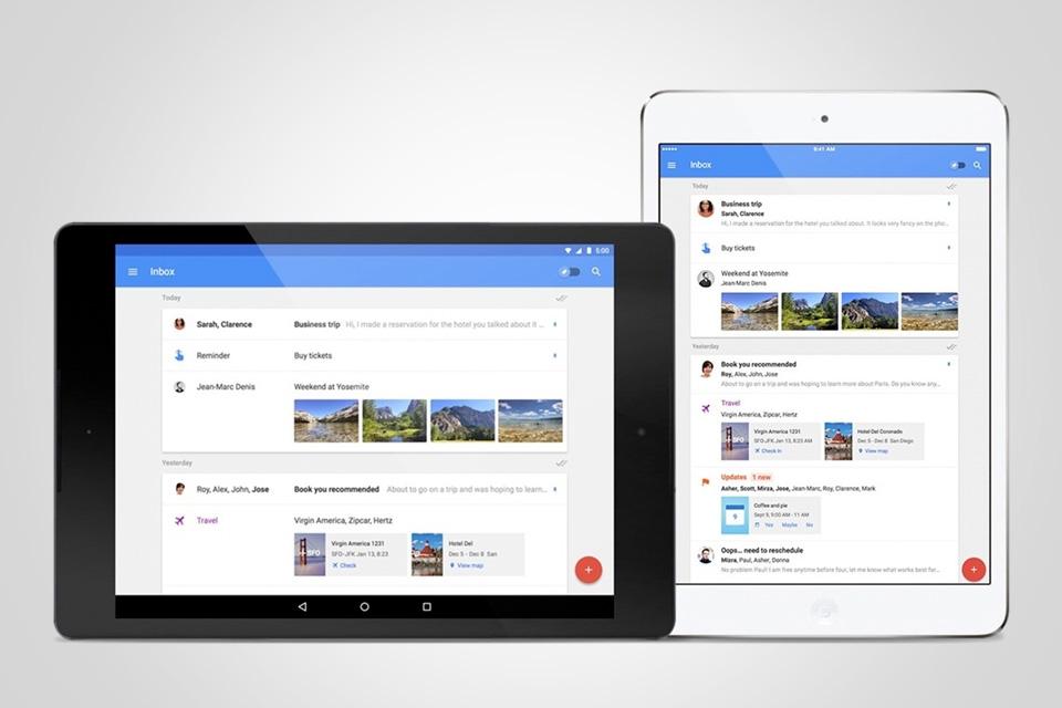 Imagem de Surpresa! Inbox agora funciona em iPads, tablets Android e outros browsers no site TecMundo