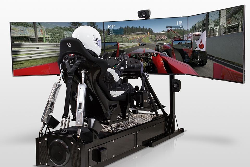 Imagem de Simulador Motion Pro II custa o mesmo que um carro esportivo de verdade no site TecMundo