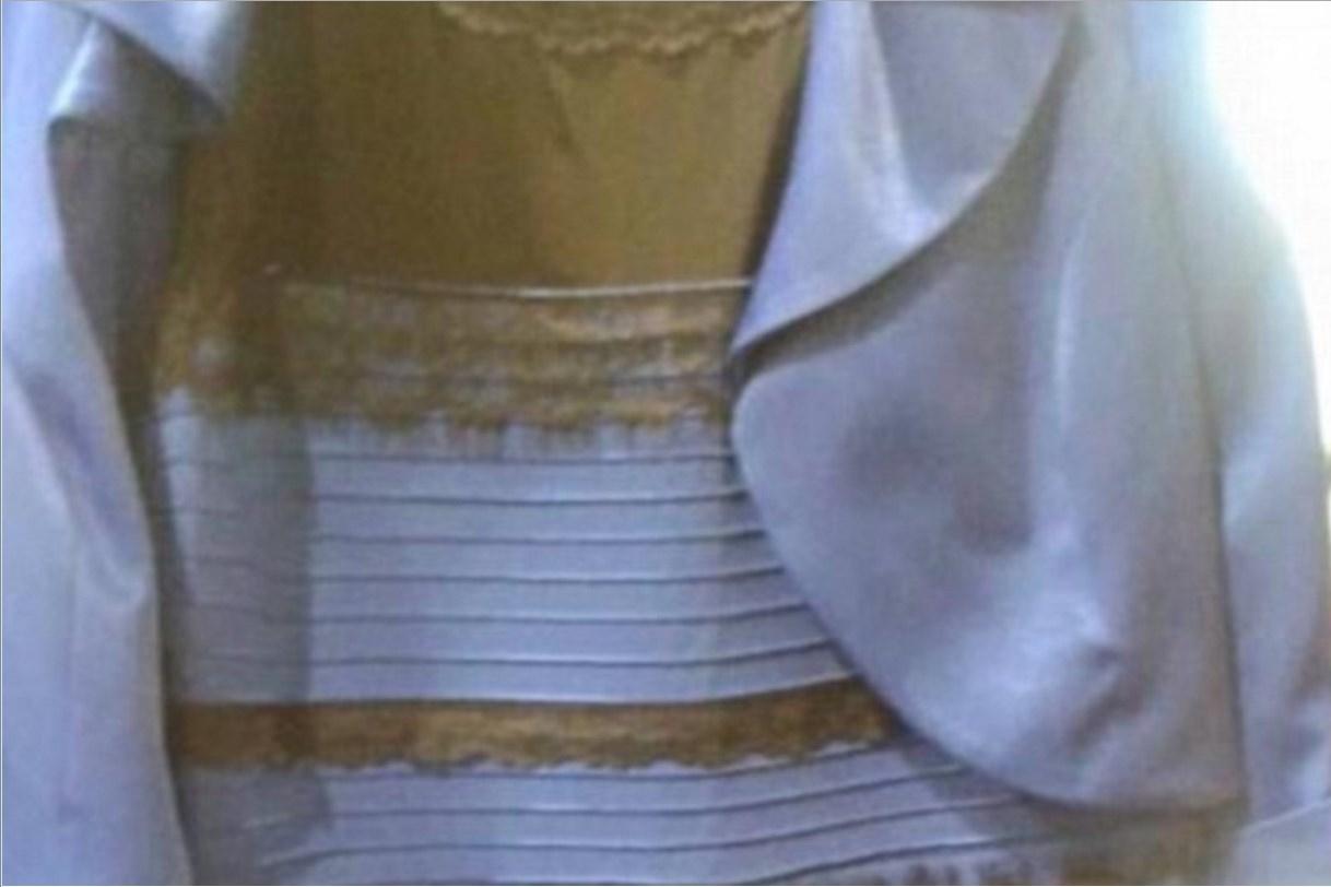 Imagem de Entenda por que algumas pessoas veem o tal do vestido de outra cor no site TecMundo