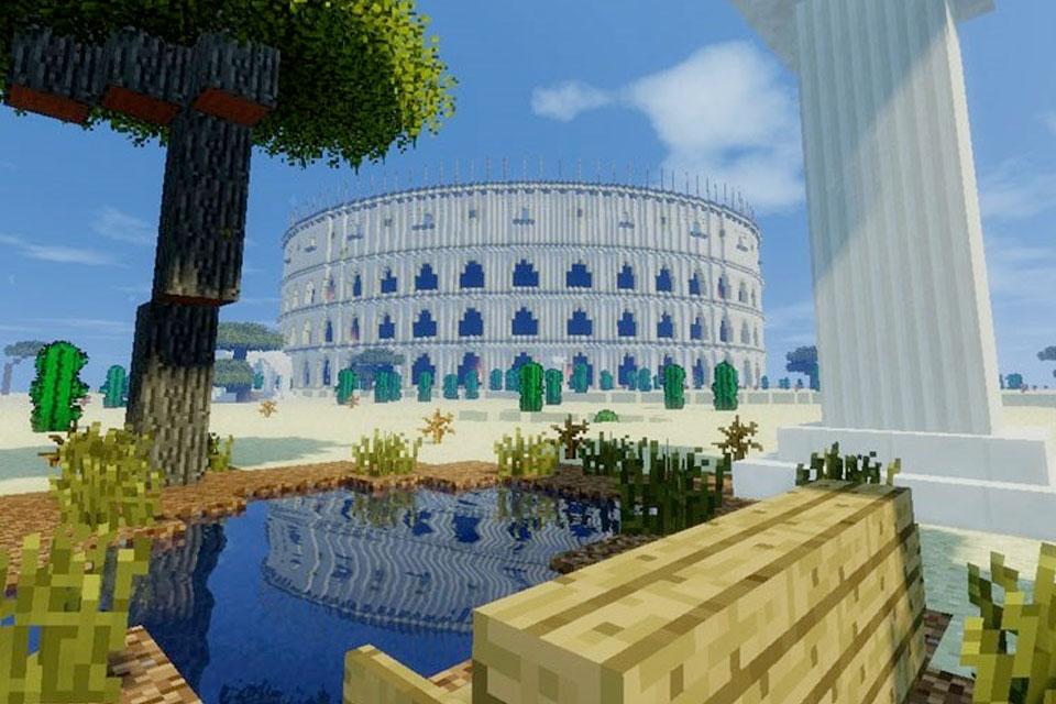 Imagem de Mapa de Minecraft coloca as mais belas Maravilhas do Mundo em um só lugar no site TecMundo