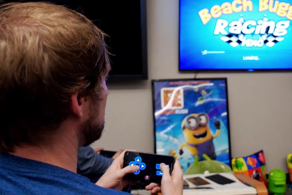 Imagem de Em breve você poderá usar seu celular como controle de jogos na Android TV no site TecMundo