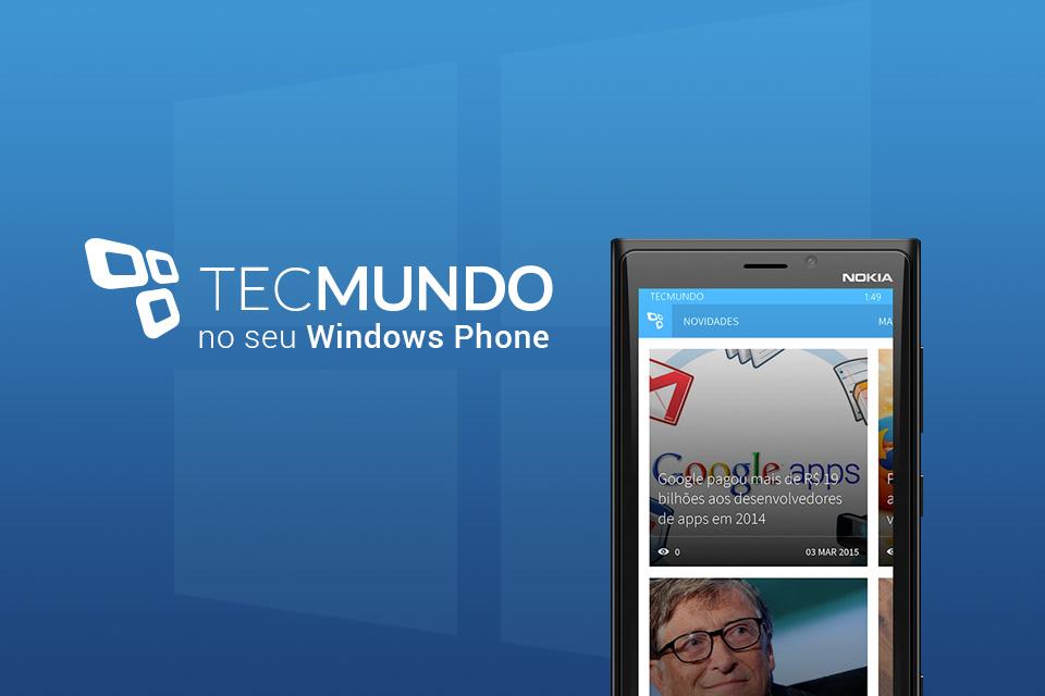 Imagem de Saindo do forno: baixe agora o aplicativo do TecMundo para o Windows Phone no site TecMundo