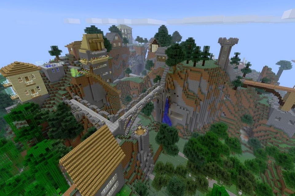 Imagem de Como são criados os mapas quase infinitos de Minecraft? [vídeo] no site TecMundo