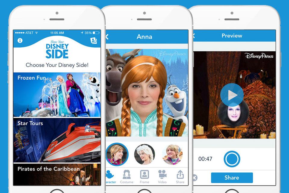 Imagem de App da Disney transforma você em personagens de Frozen, Star Wars e outros no site TecMundo