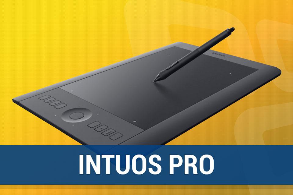 Imagem de Análise: mesa digitalizadora Intuos Pro (modelo PTH-451) no site TecMundo