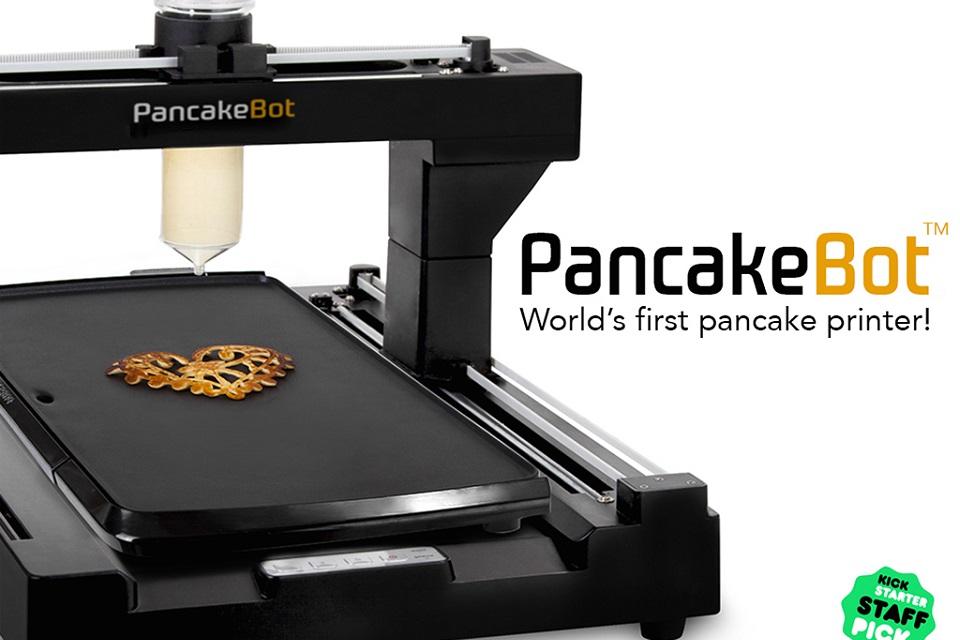 Imagem de PancakeBot: conheça a impressora 3D que faz panquecas no site TecMundo