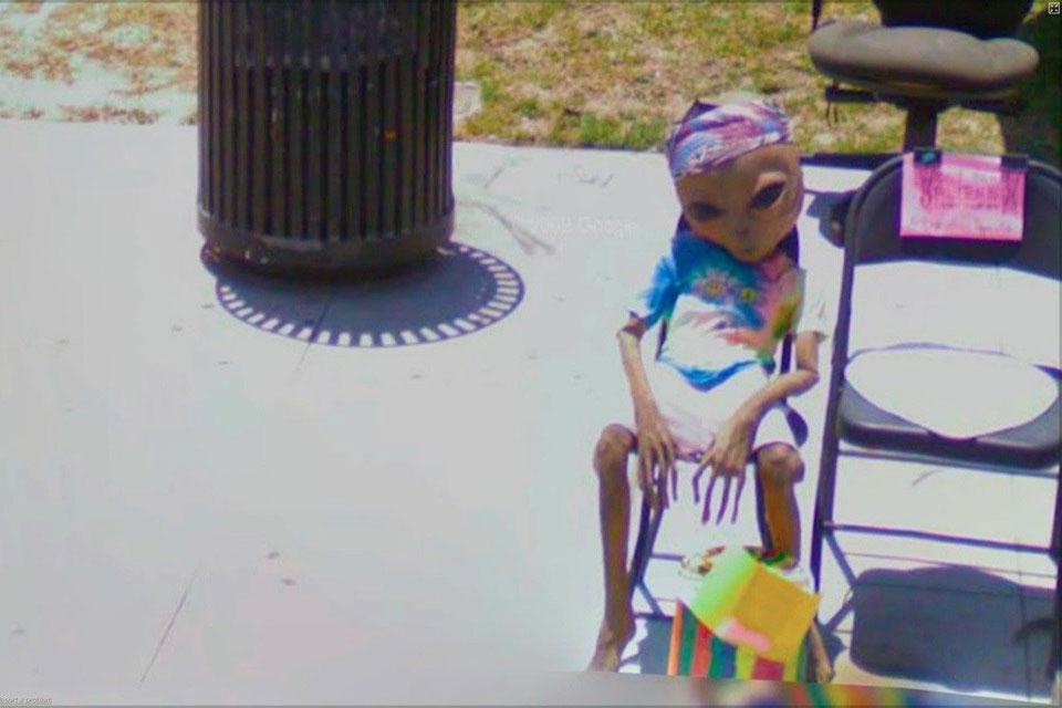 Imagem de As 25 fotos mais engraçadas e bizarras do Google Street View no site TecMundo