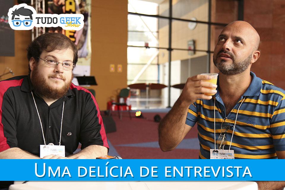 Imagem de Uma delícia de entrevista com o 'Pai de Família' no Tudo Geek Show [vídeo] no site TecMundo