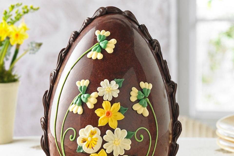 Imagem de Veja como ovos de páscoa gigantes são feitos à mão no site TecMundo
