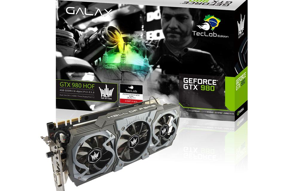 Imagem de Galax GTX TecLab Edition: brasileiros inspiram poderosa linha de placas no tecmundo