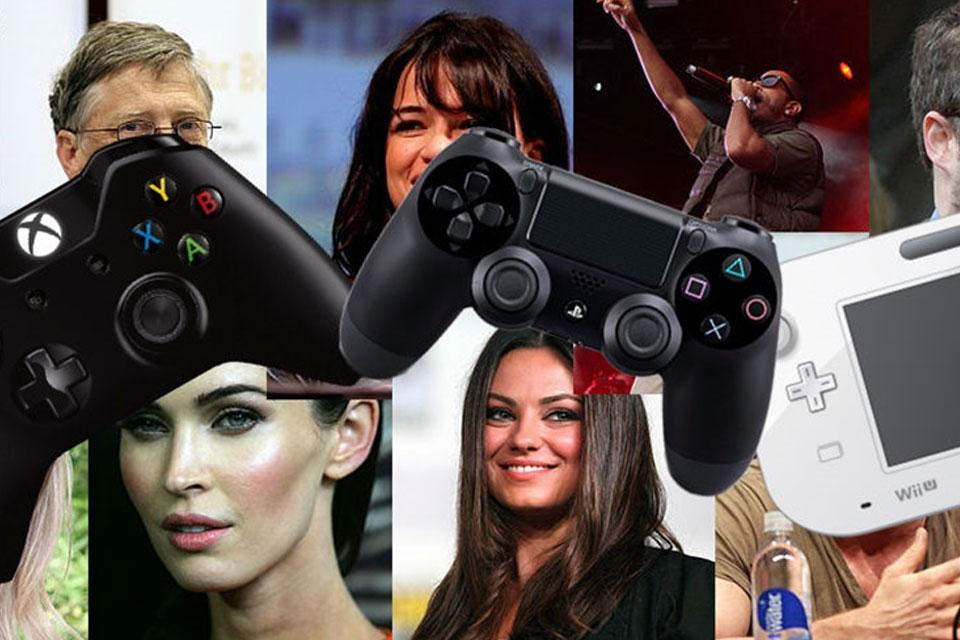 Imagem de Gente como a gente: 15 celebridades que curtem uma boa jogatina  no tecmundo