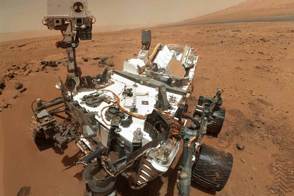 Imagem de NASA encontra evidência de água e sal em Marte no tecmundo