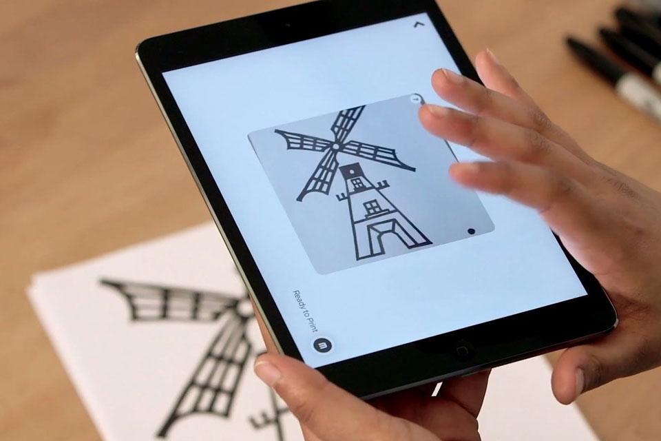 Imagem de App transforma desenhos feitos à mão em modelos 3D para imprimir no tecmundo