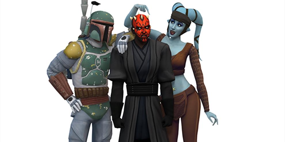 Imagem de The Sims 4 ganha skins de Star Wars (de novo) no tecmundo