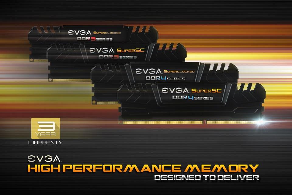 Imagem de EVGA anuncia memórias DDR3 e DDR4 de alta performance no tecmundo