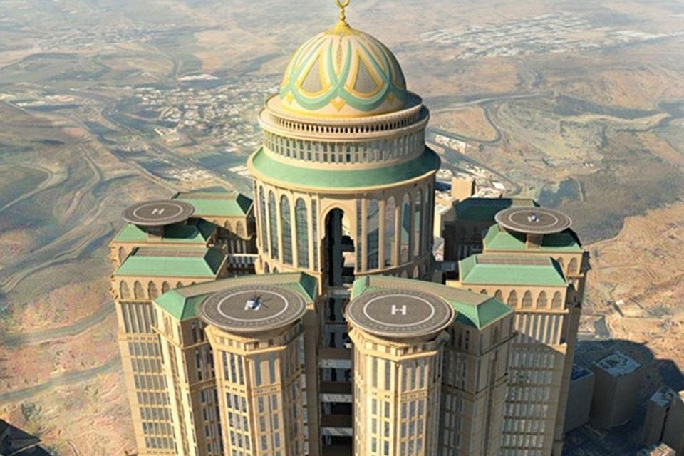 Imagem de Maior hotel do mundo ajudará a transformar Meca em uma nova Manhattan no tecmundo