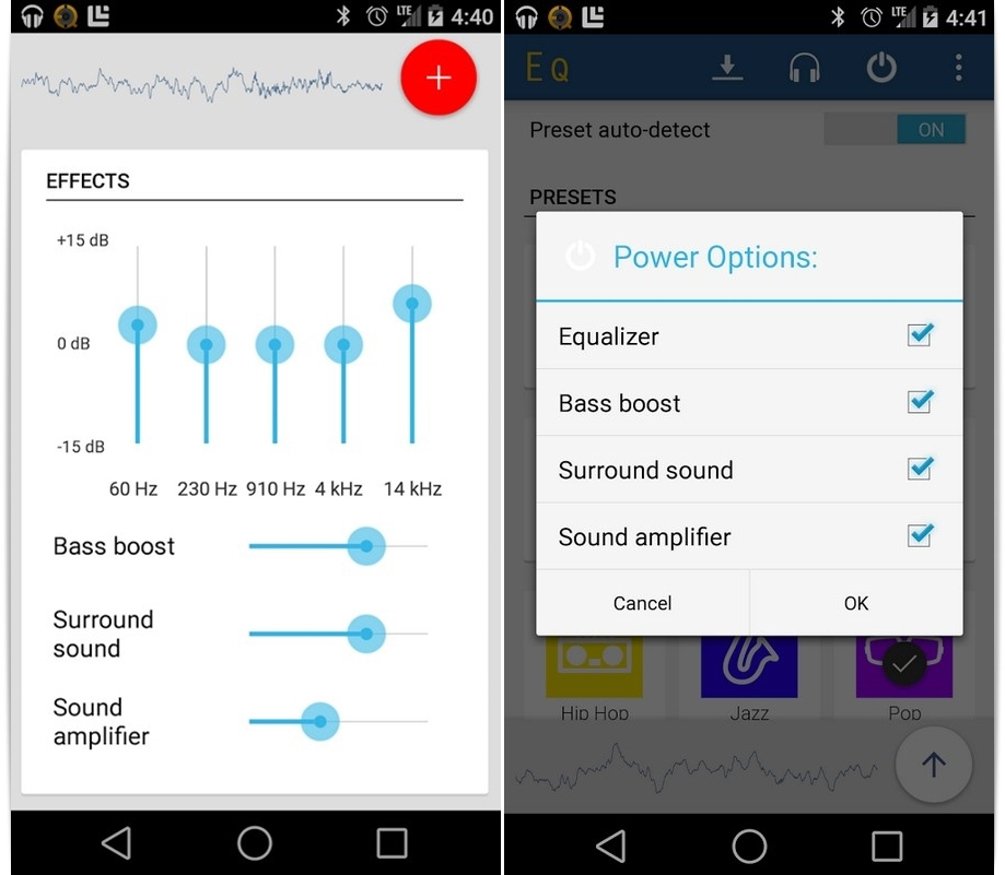 equalizador de som para celular lg