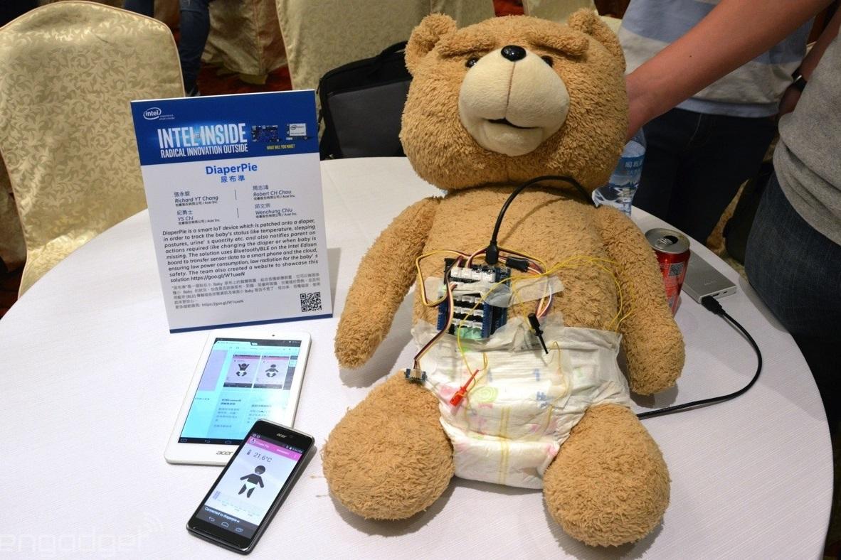 Imagem de Esta fralda inteligente monitora o bebê e avisa quando precisa ser trocada no tecmundo