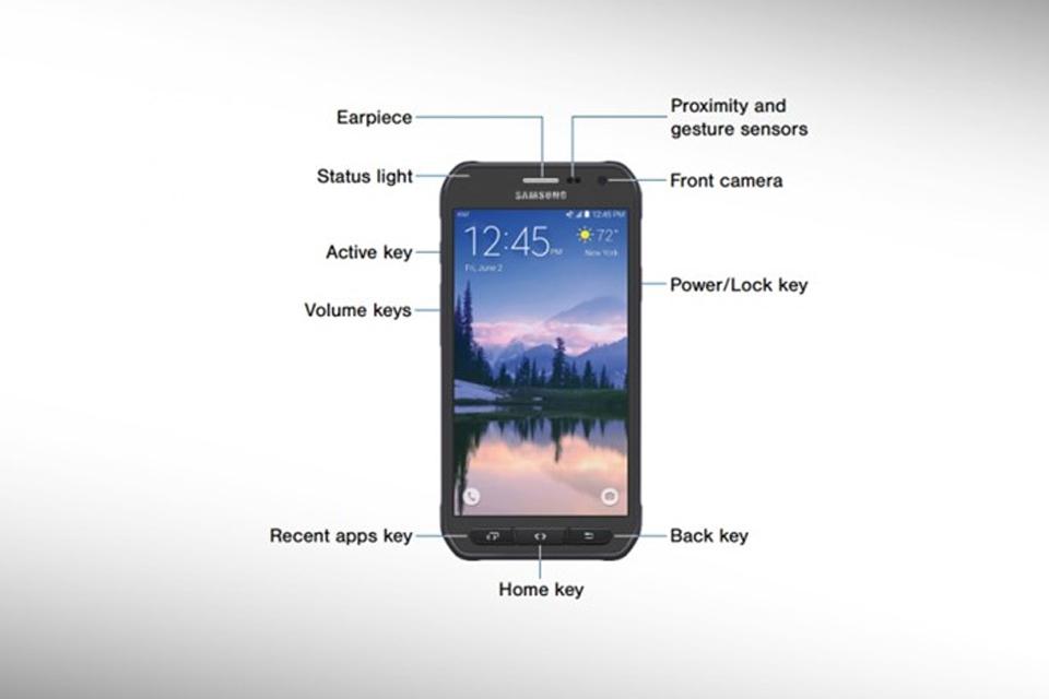Imagem de Vazam nova imagem e manual do Galaxy S6 Active no tecmundo
