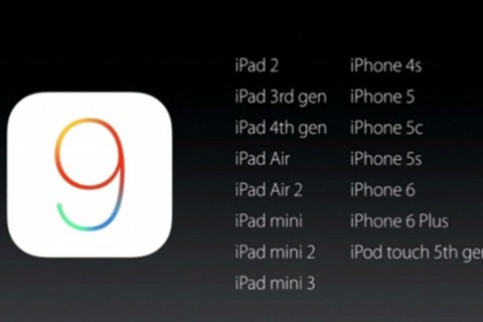 Imagem de Saiba quais aparelhos da Apple serão compatíveis com o iOS 9 no tecmundo