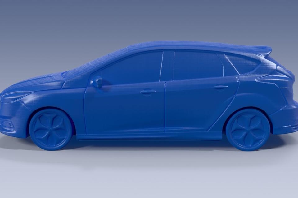 Imagem de Que tal a ideia de imprimir miniaturas 3D dos carros da Ford? [imagens] no tecmundo