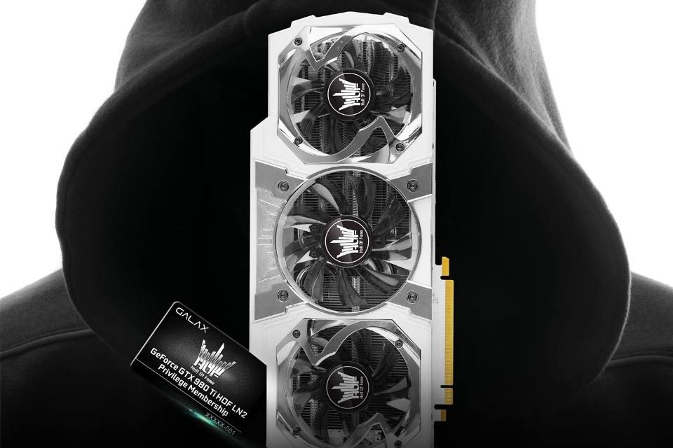 Imagem de Sinistra: Galax lança GTX 980Ti HOF LN2 personalizada para overclokers no tecmundo