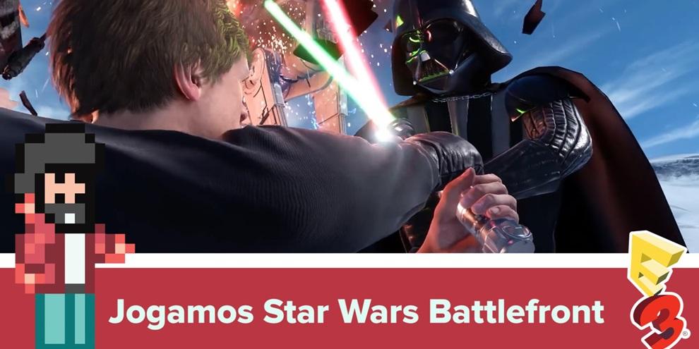 Imagem de Jogamos Star Wars: Battlefront e ele parece ser tudo aquilo que queríamos no tecmundo