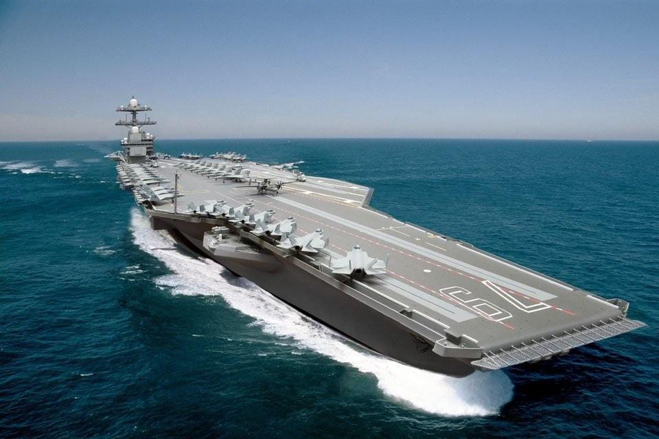 Imagem de USS Ford: o porta-aviões de US$ 13 bilhões da marinha dos Estados Unidos no tecmundo