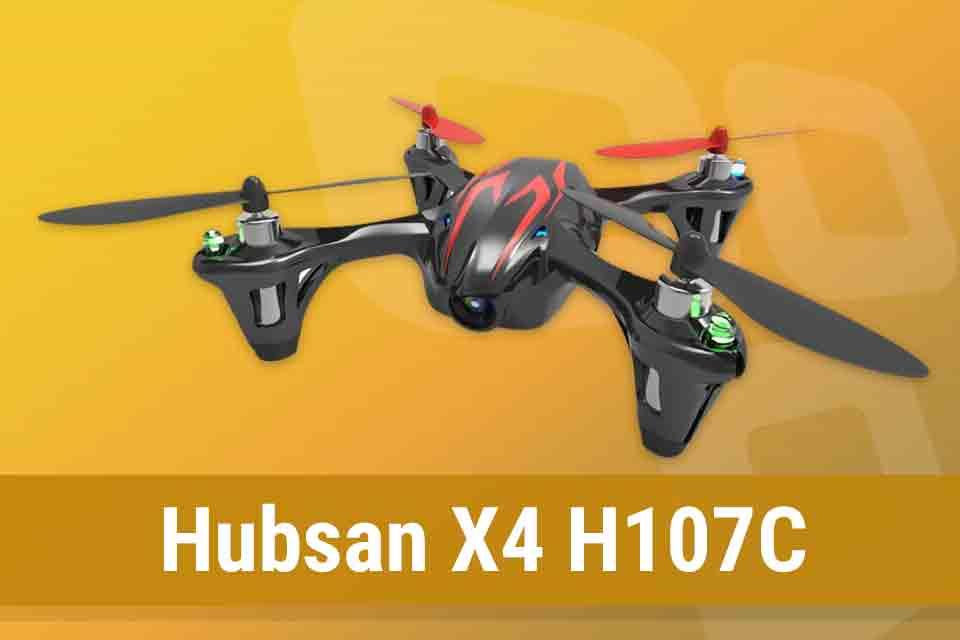 Imagem de Análise: drone Hubsan X4 H107C no tecmundo