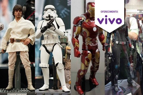 Imagem de Star Wars, Vingadores e mais de 50 action figures na Comic-Con  no tecmundo