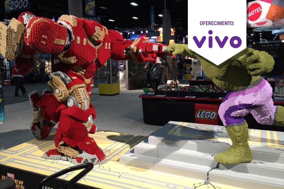 Imagem de  Veja a versão da luta entre Hulk e Hulkbuster feita com peças LEGO [vídeo] no tecmundo