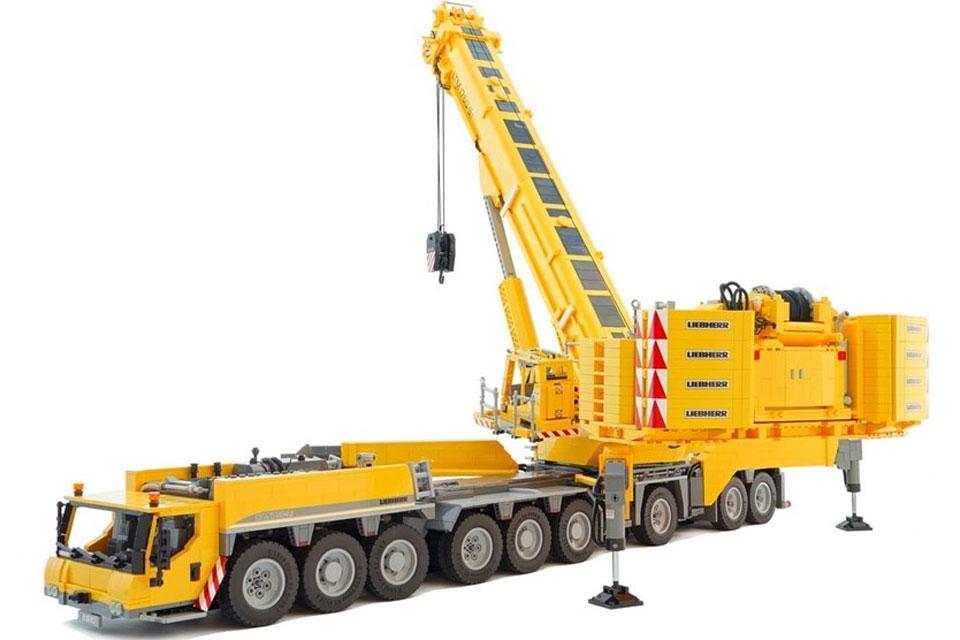 Imagem de LEGO para adultos: grua móvel de 18 rodas e 11 motores é impressionante no tecmundo