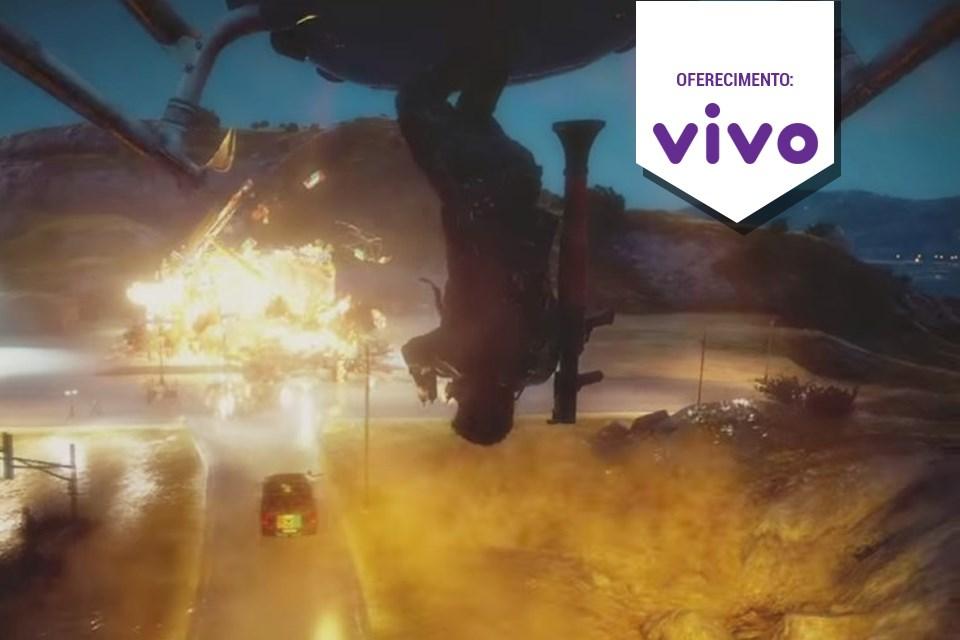 Imagem de Novo trailer de Just Cause 3 não nega fogo para ninguém – literalmente no tecmundo
