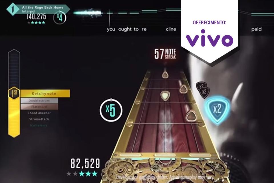 Imagem de Vídeo de bastidores de Guitar Hero Live fala sobre festivais, vocais e mais no tecmundo