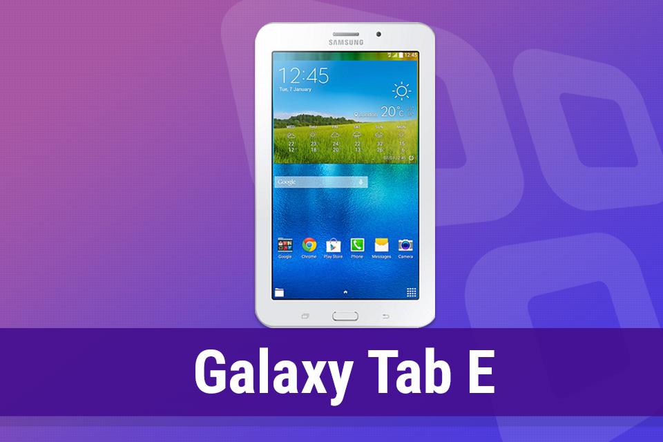 Imagem de Análise: tablet Samsung Galaxy Tab E no tecmundo