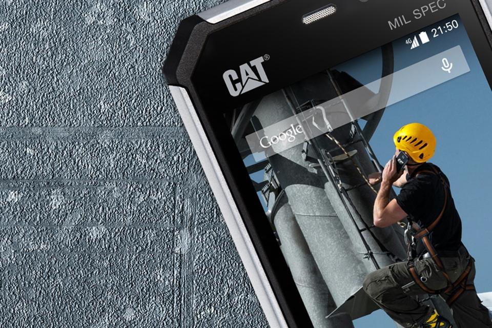 Imagem de Duro na queda: CAT S50 é o 'smartphone indestrutível' da Caterpillar no tecmundo