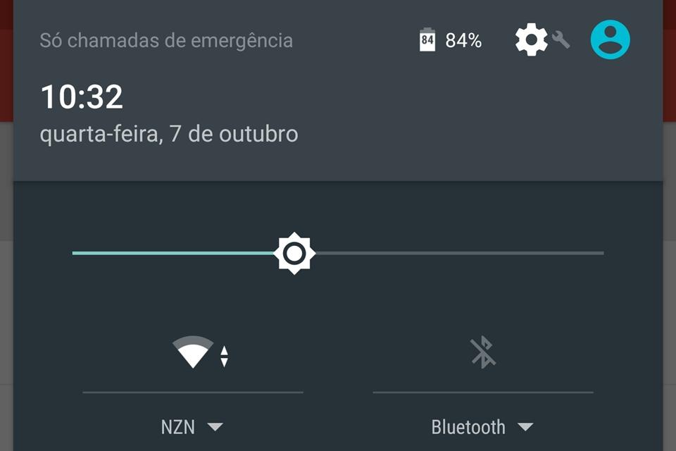 Imagem de Android 6.0: como exibir a porcentagem de carga junto do ícone da bateria no tecmundo