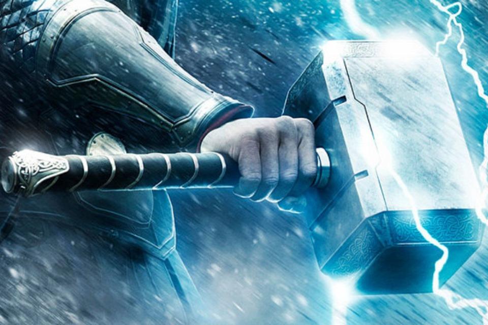 Imagem de Veja uma réplica do martelo de Thor que só seu criador pode levantar no tecmundo