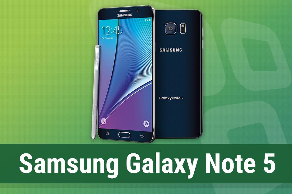 Imagem de Análise: phablet Samsung Galaxy Note 5 no tecmundo