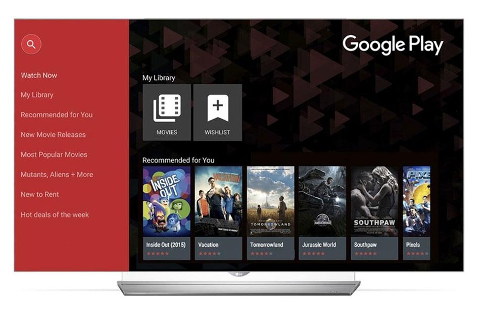 Imagem de Google Play Movies & TV já está disponível nas smart TVs da LG no tecmundo