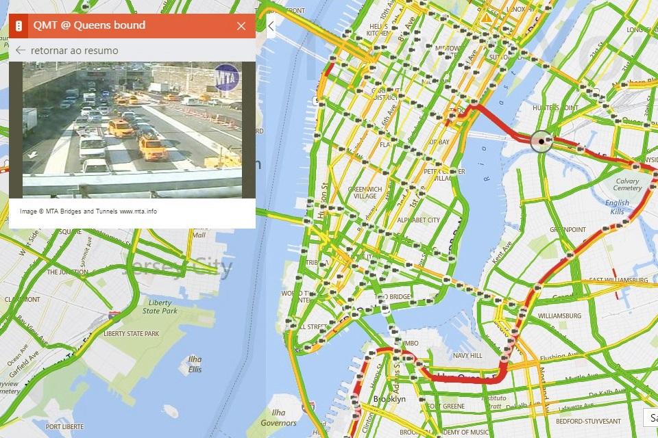 Imagem de Bing Maps ganha função de imagens em tempo real com ajuda de 35 mil câmeras no tecmundo