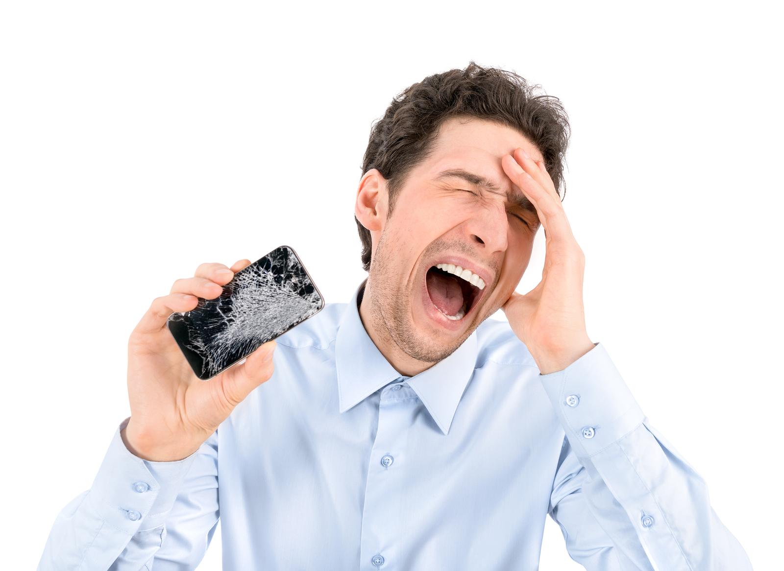 Imagem de Por que nosso smartphone sempre cai com a tela virada para baixo? no tecmundo